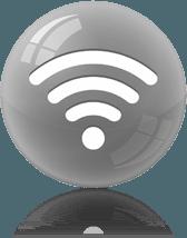 Wifi symbol homepage